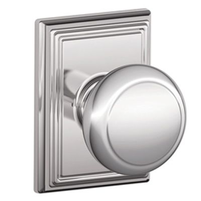 schlage andover knob with addison rosette doors pinterest