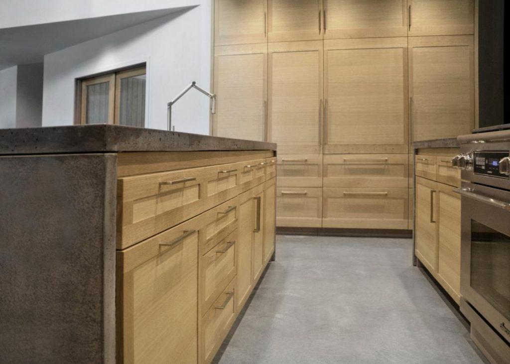 rift white oak cabinets