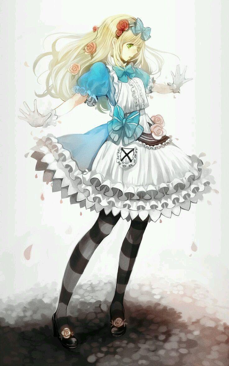 Alicia En El Pais De Las Maravillas Version Anime Buscar Con