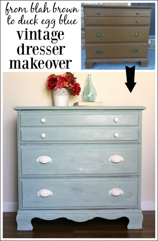 Duck Egg Blue Dresser Happy Accidents