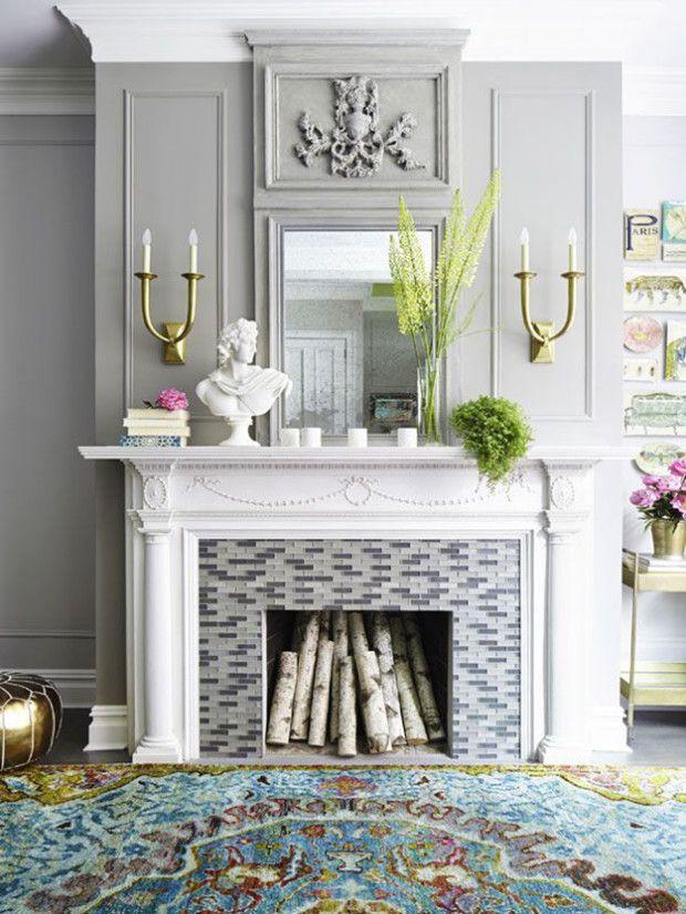 Fresh Fireplace Decor Ideas