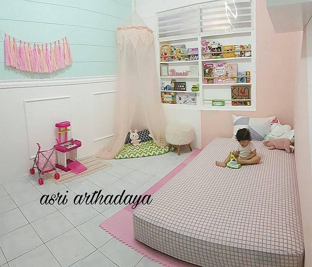 Dekorasi Kamar Anak Perempuan Unik Lucu Pink Dekorasi Kamar