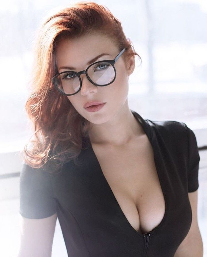 Image result for hottie redhead cleavage