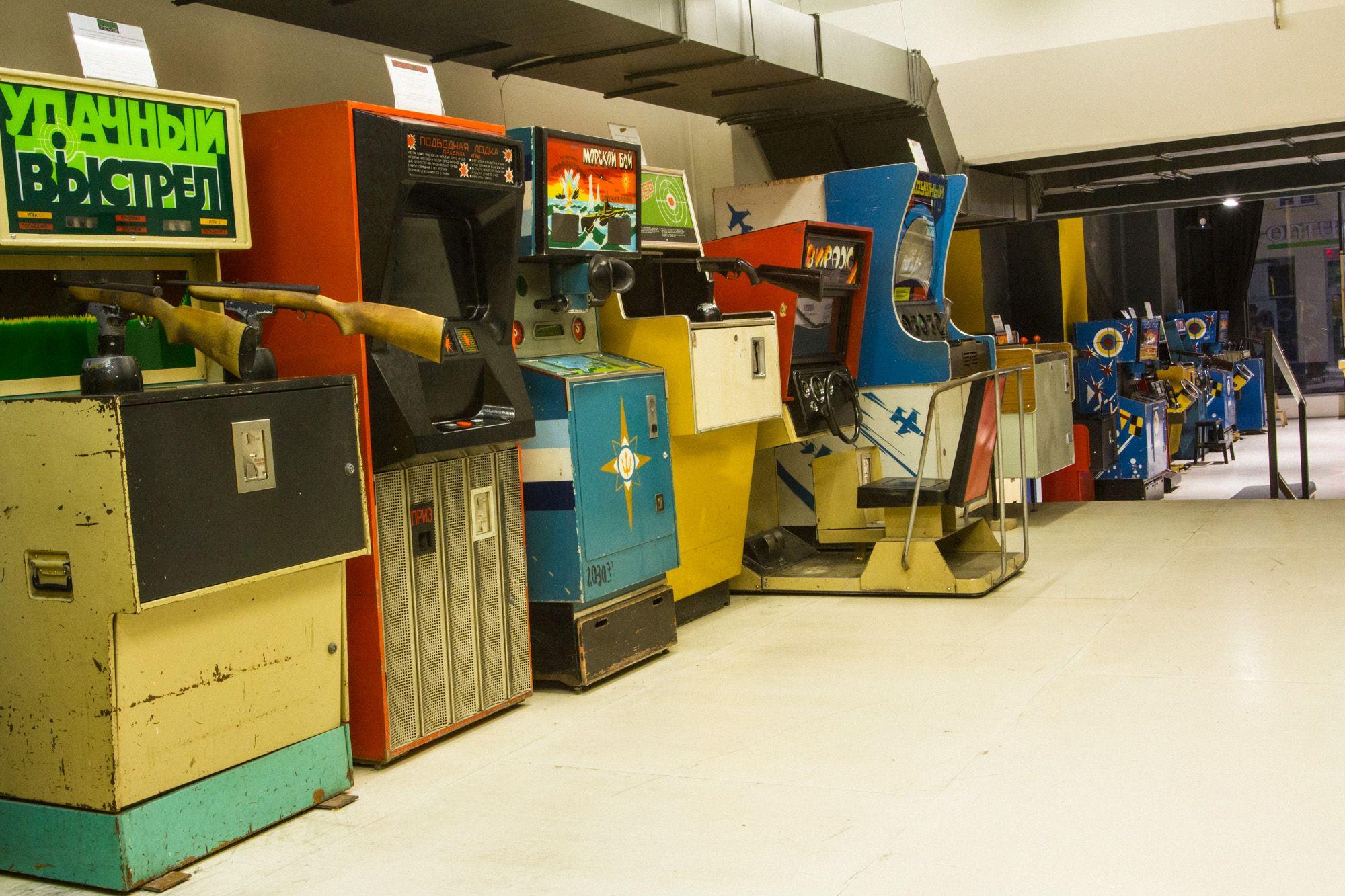 Игровой автомат, который прочнее танка / Союз