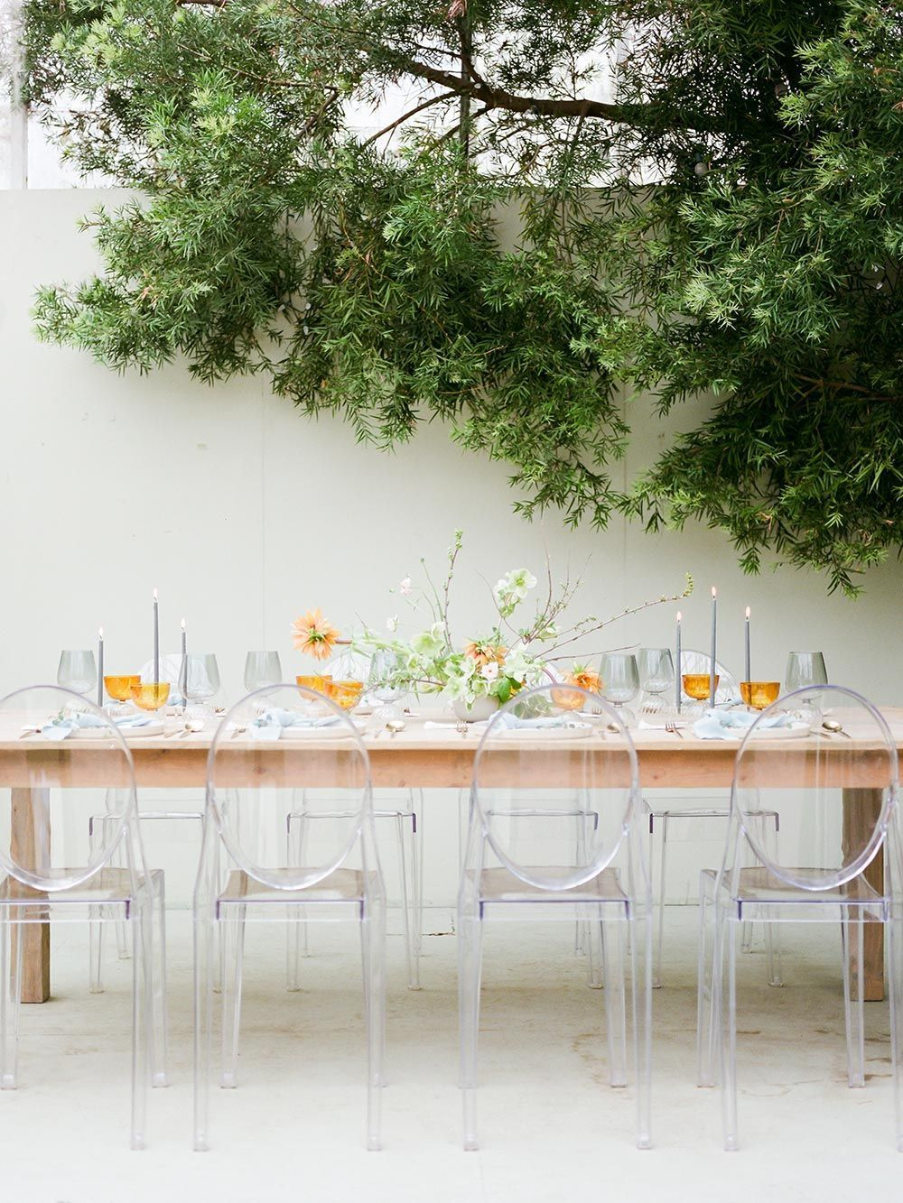 If You Love Organic Greenery And Minimalist Tablescapes This