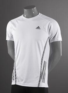 c9195790164d4 adidas Supernova Short Sleeve T-Shirt - Mens Running Clothing - White-Tech  Green