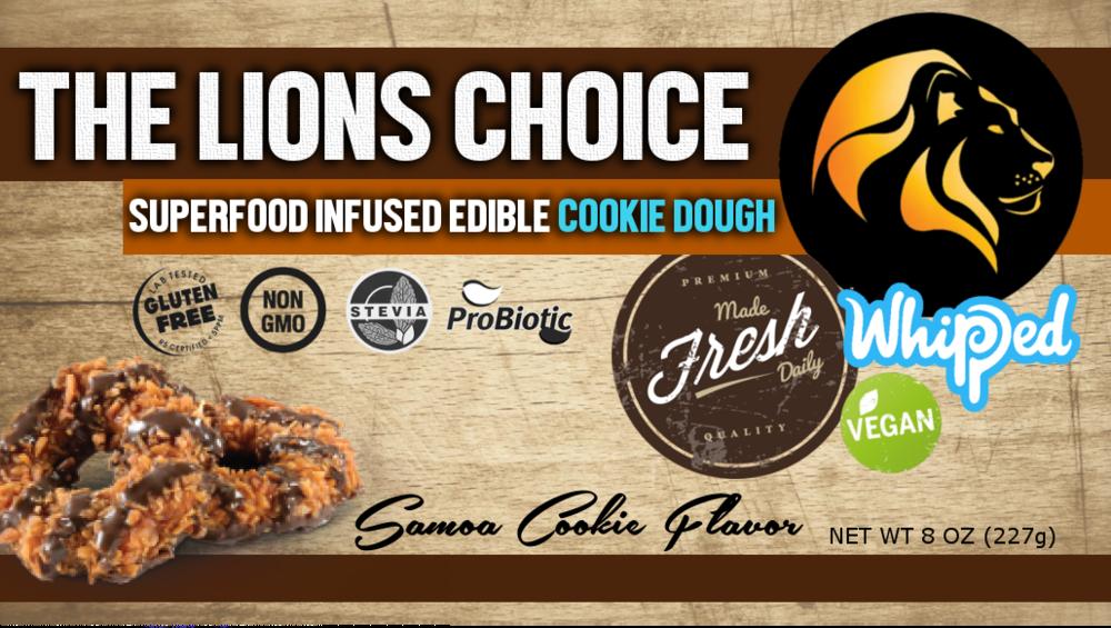 samoa cookie superfood edible cookie dough 2 tbsp 137 calories 9 g fat