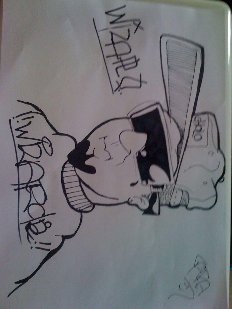 graffiti character