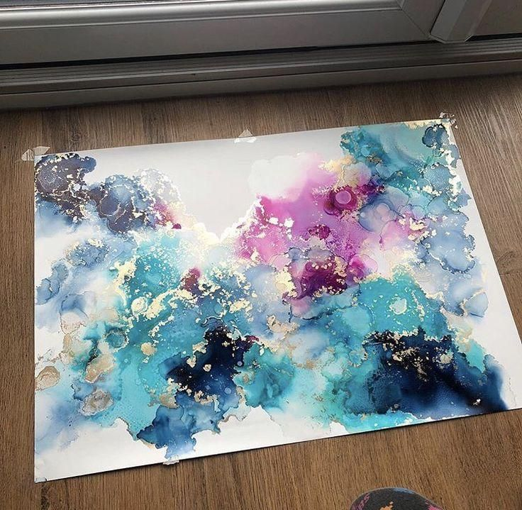 Artist Share Their Alcohol Ink Tips – Happily Ever Crafty  - inspiration -