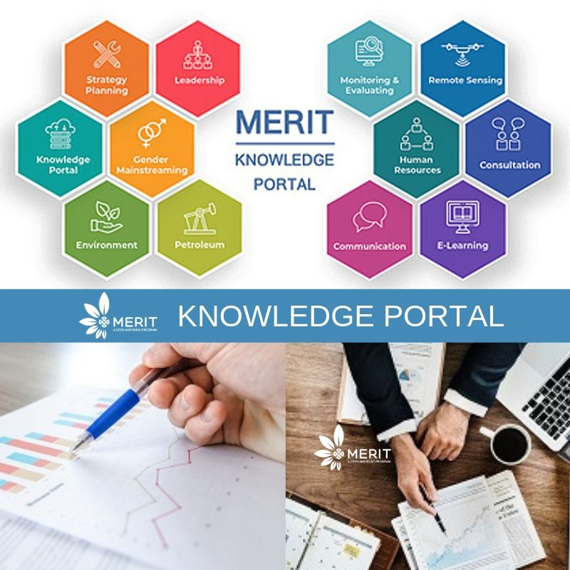 The MERIT Knowledge Portal is a webbased platform that