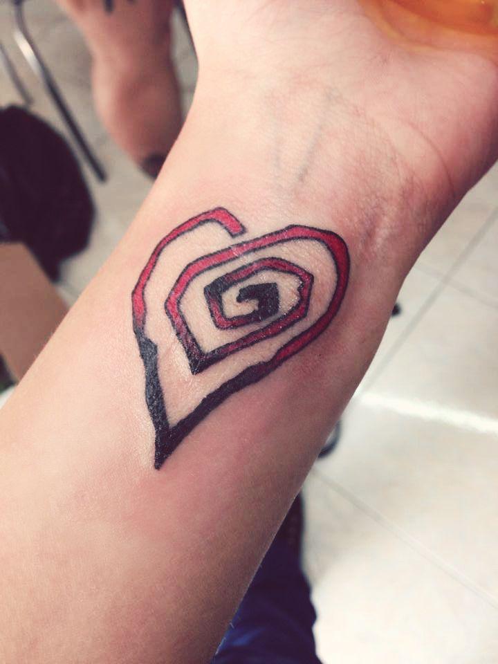 Marilyn Manson Heart Tattoo: Marilyn Manson Inspired Tattoo