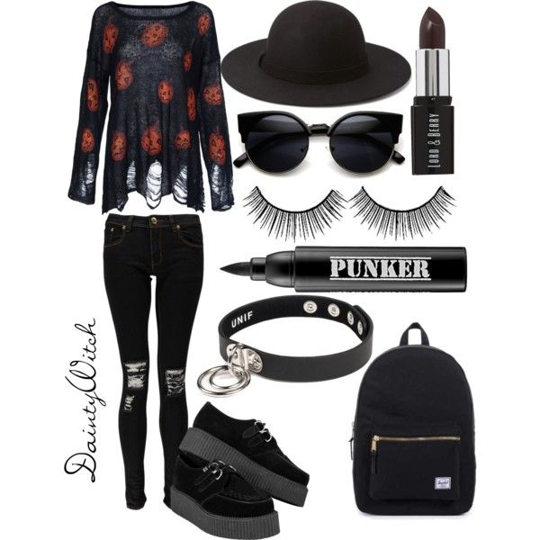 Pumpkin Spice  #polyvore #girly #preppy #prettypastels #pretty #pastel #softgrunge #grunge #tumblr  #edgy #punk #nugoth #gothgoth