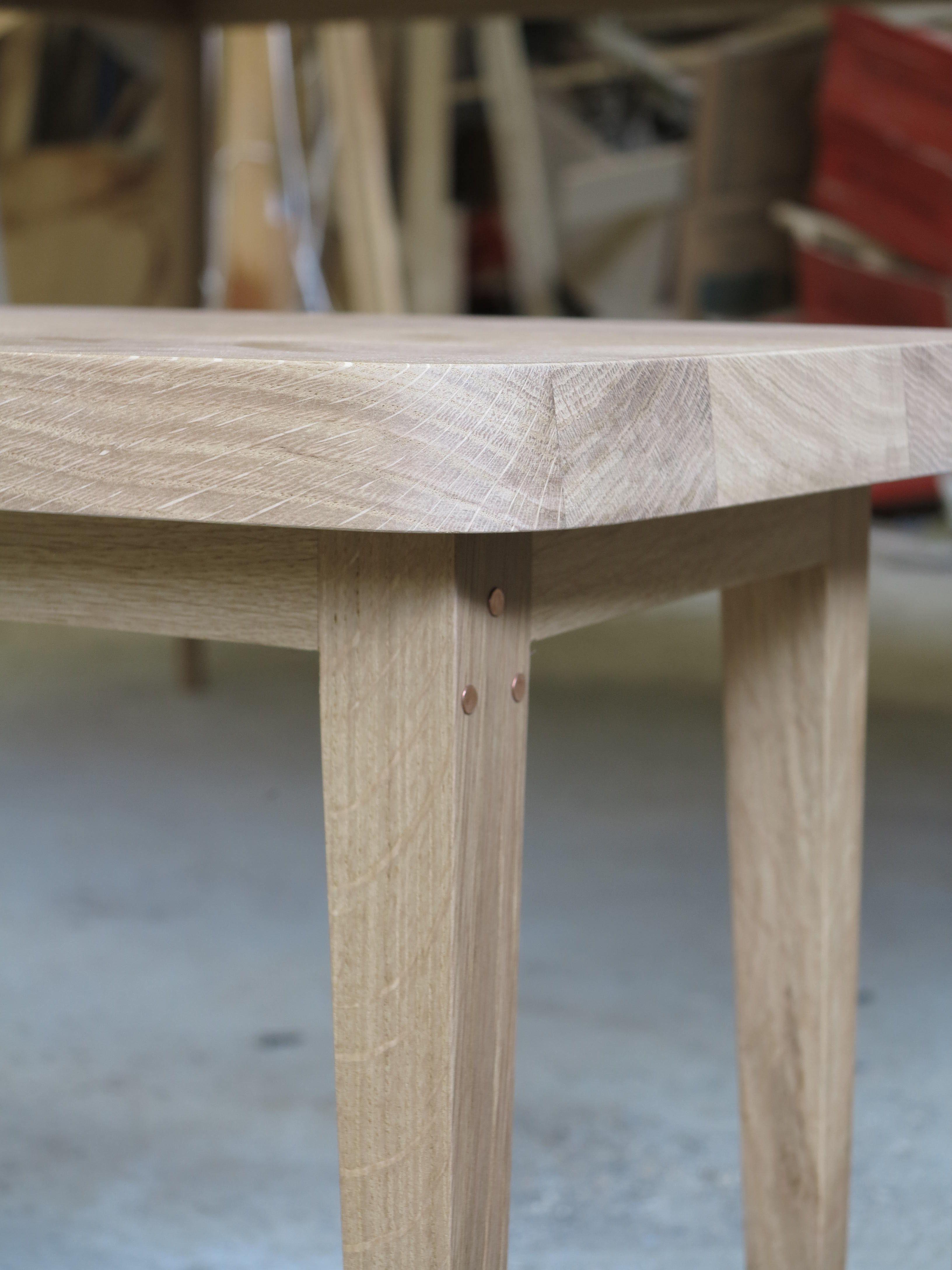 Design Fran§ois Rabot tables rallonge banc chªne massif