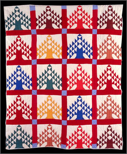 American Tree circa 1940, » A Piece of My Soul - Quilts by Black Arkansans » Old State House Museum