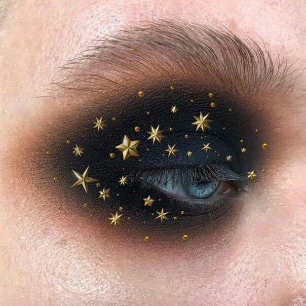 Photo of 15 Maquillajes con estrellas para crear tu propia constelación