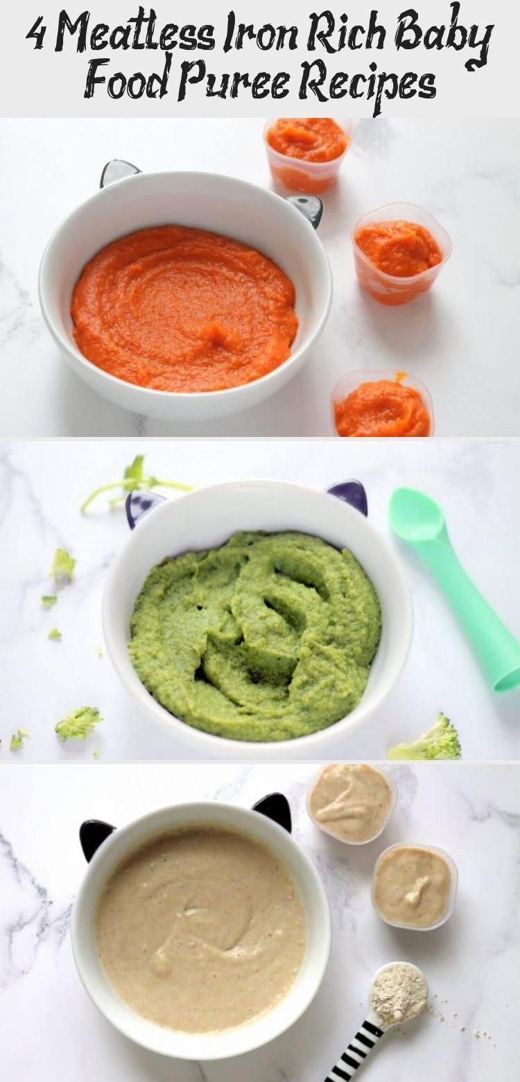 4 Meatless Iron Rich Baby Food Puree Recipes BABY ATK