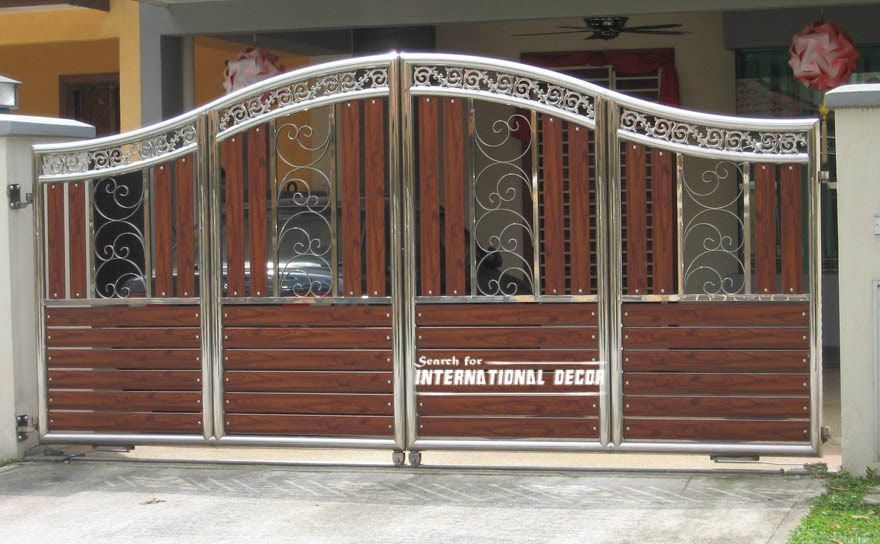 Stunning gate designs 20 gate designs gate designs for - Sliding main gate design for home ...