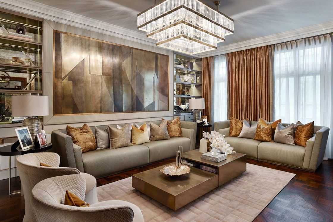 Contemporary Luxury Design Hyde Park Luxury Living Room Design Luxury Living Room Living Room Interior