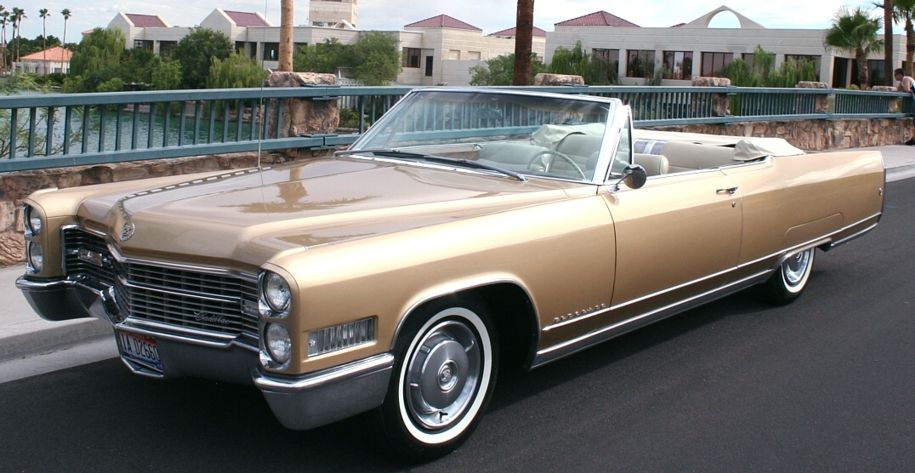1966 Cadillac Coupe DeVille Convertible...... | Hot cars | Pinterest