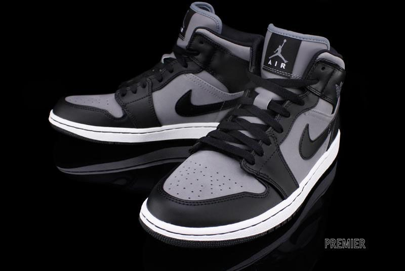 cheaper e83a2 58922 Air Jordan 1 Phat - Cool Grey Black-White
