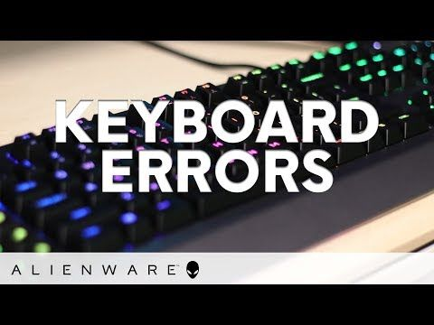 Error messages about your ⌨️ have you 😠? Our #Alienware agents