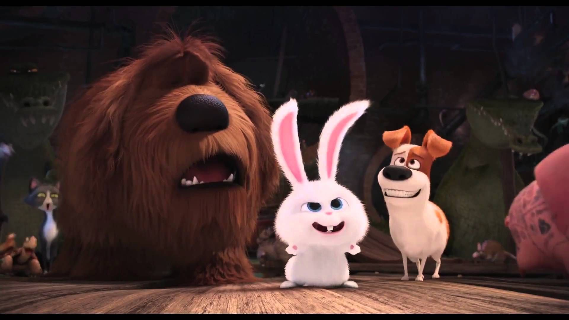 The Secret Life Of Pets Snowball Trailer Secret Life Of Pets Cool Pets Pets Movie