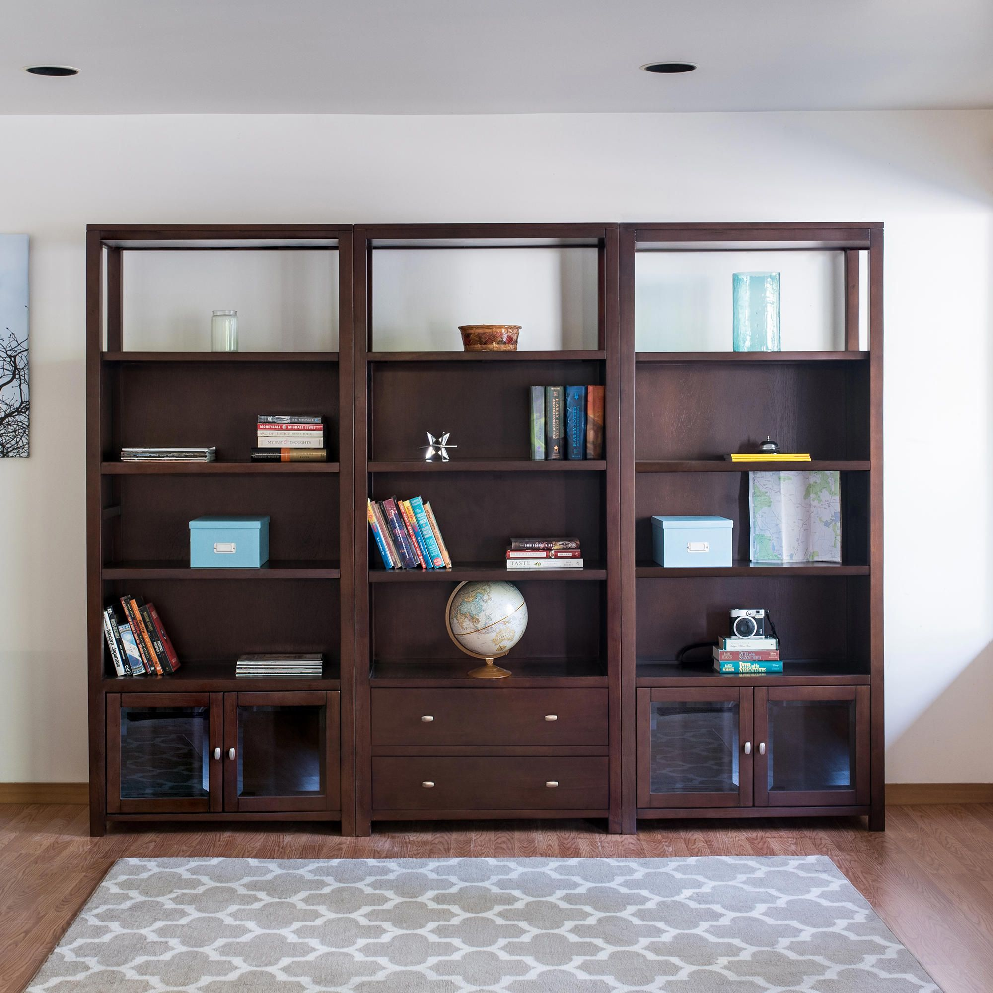 Best Of Decorative Wall Cabinet with Glass Doors