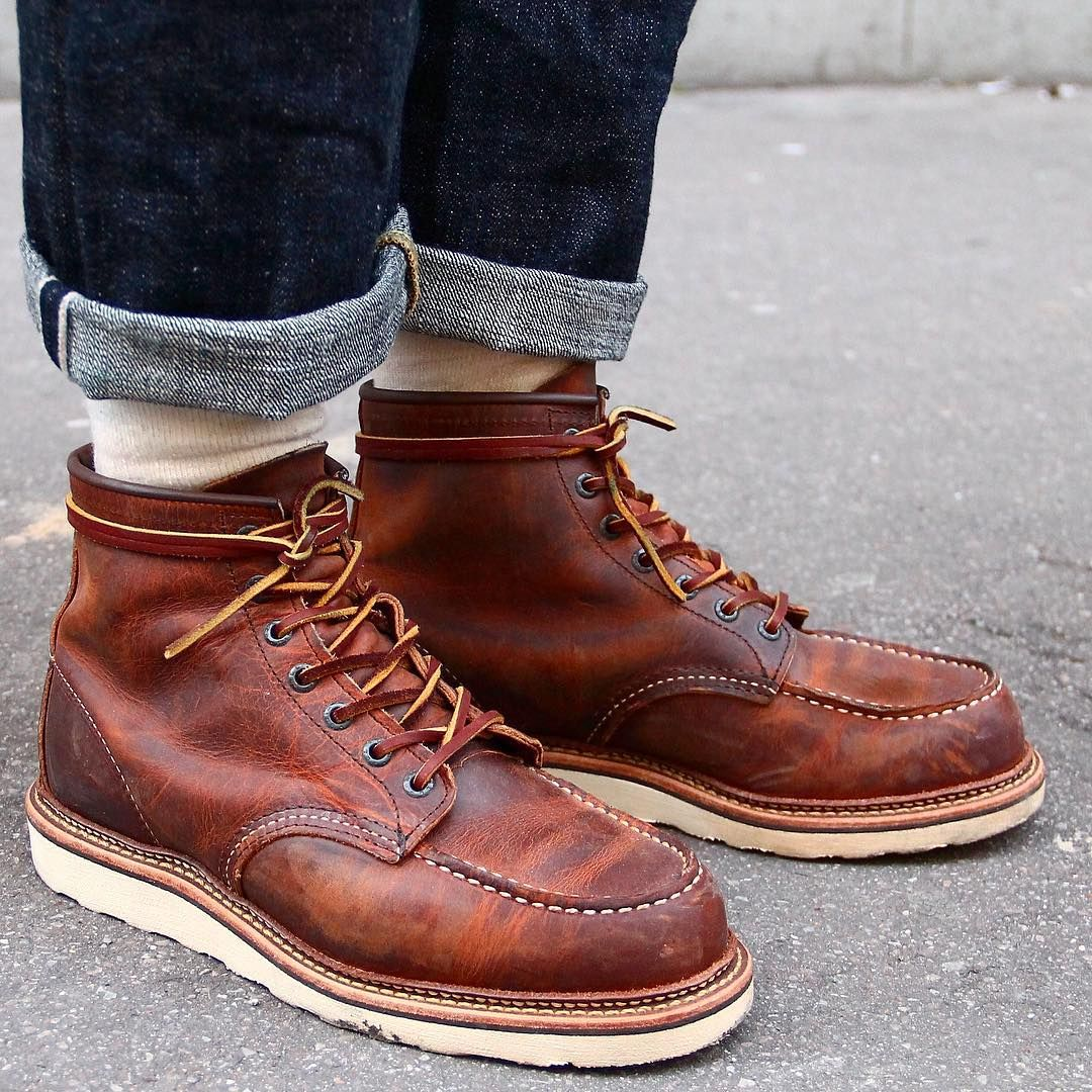 34ba6ea40d85a redwing heritage Men boots | Mens Boots in 2019 | Mens boots fashion ...