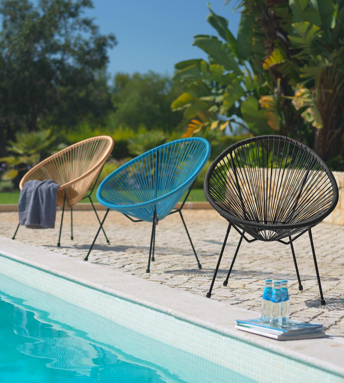 Gartensessel Acapulco Design In Schwarz Bestellen Gartensessel Aussenmobel Sessel Kaufen