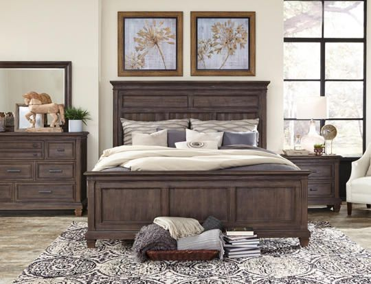 Best Worcester Queen Panel Bed Art Van Furniture Furniture Queen Panel Beds Modern Bed 400 x 300