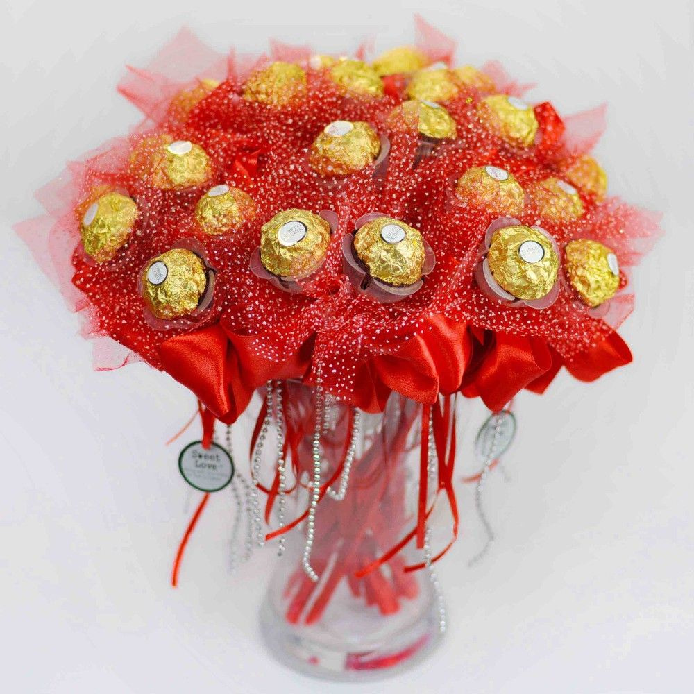 Beautiful flower candy bouquet pictures inspiration images for if youre considering a home business making candy a candy basket izmirmasajfo Gallery