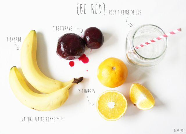 Jus {Be Red} #végétal #vegan