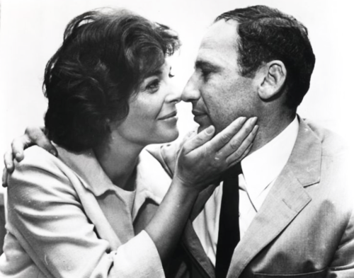 "Mel Brooks spent ""the 45 greatest years of his life"" with late wife, Anne Bancroft.  Upon meeting her he proclaimed, ""I'm Mel Brooks and I'm going to marry you.""  Bancroft responded ""Hey, I have your record."" referring to the classic comedy album  ""The Two-Thousand Year Old Man. This was Feb. 5, 1961,"" Brooks recalls. ""From that day, until her death on June 5, 2005, we were glued together."""