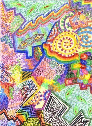 art 1 drawing sketchbook assignments