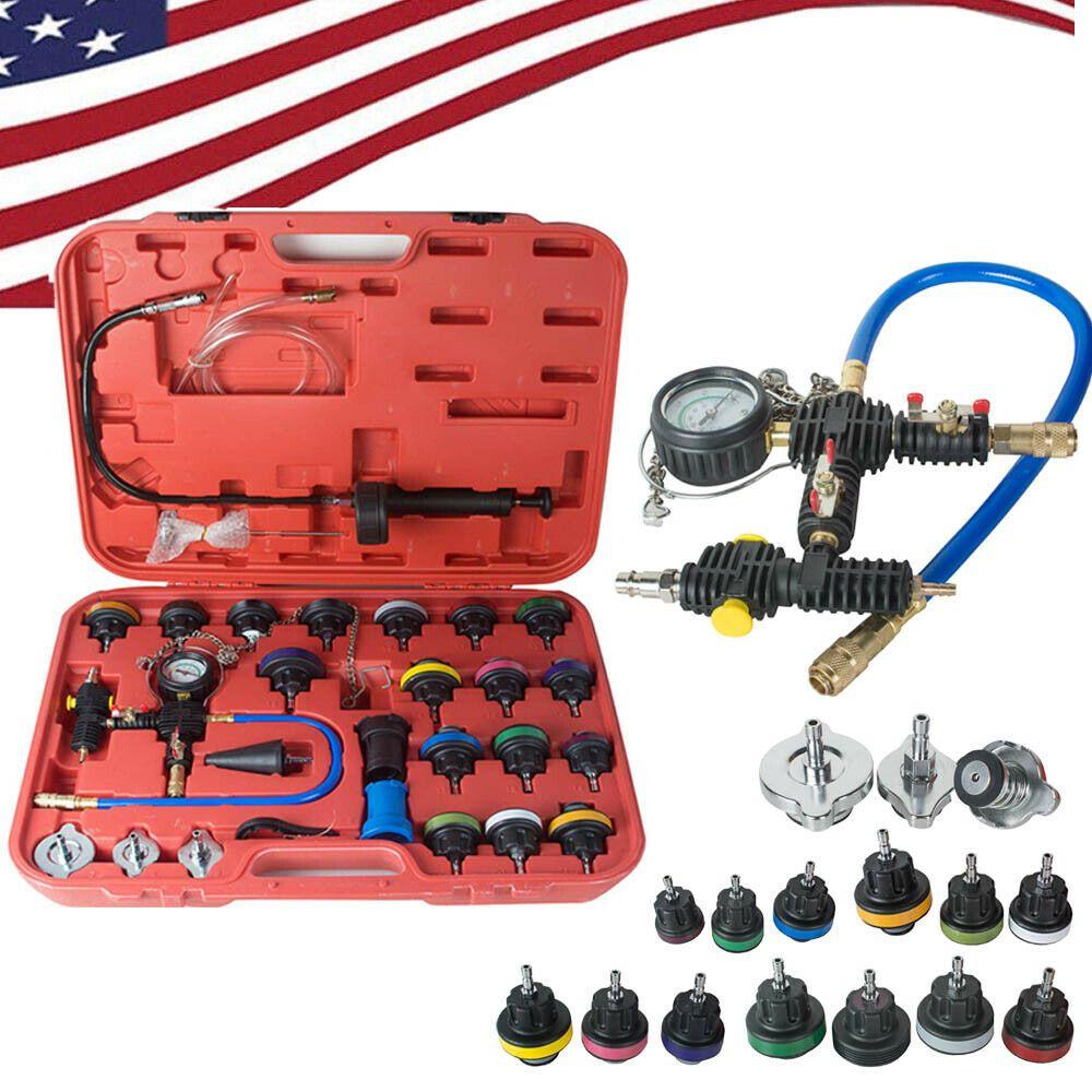 Ebay Advertisement Universal Radiator Pressure Tester Kit Cooling System Tester Water Tank Us Stock Water Tank