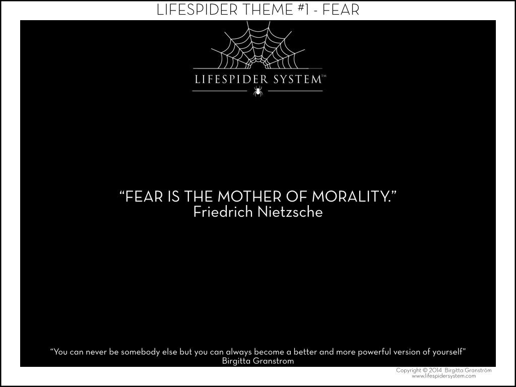 Fear Is The Mother Of Morality Friedrich Nietzsche Nietzsche Overcoming Fear Words