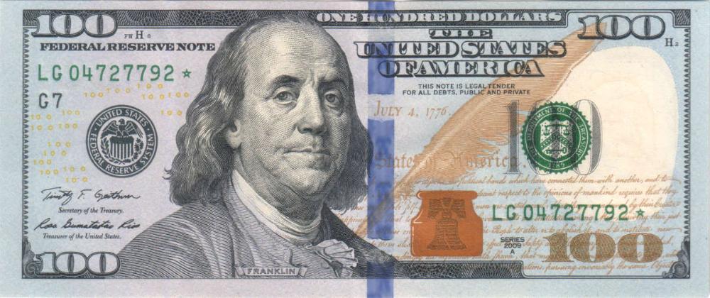 May 2019 100 Paid 100 Dollar Bill Dollar Bill Play Money
