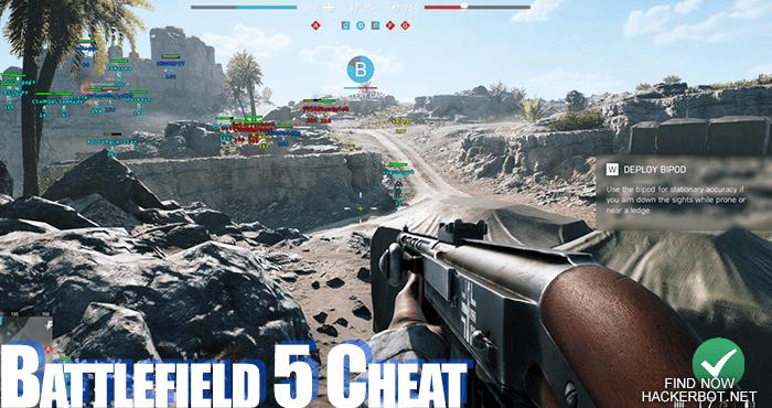Battlefield 5 Hacks, Aimbots, Wallhacks, Mods and Cheats for PS4