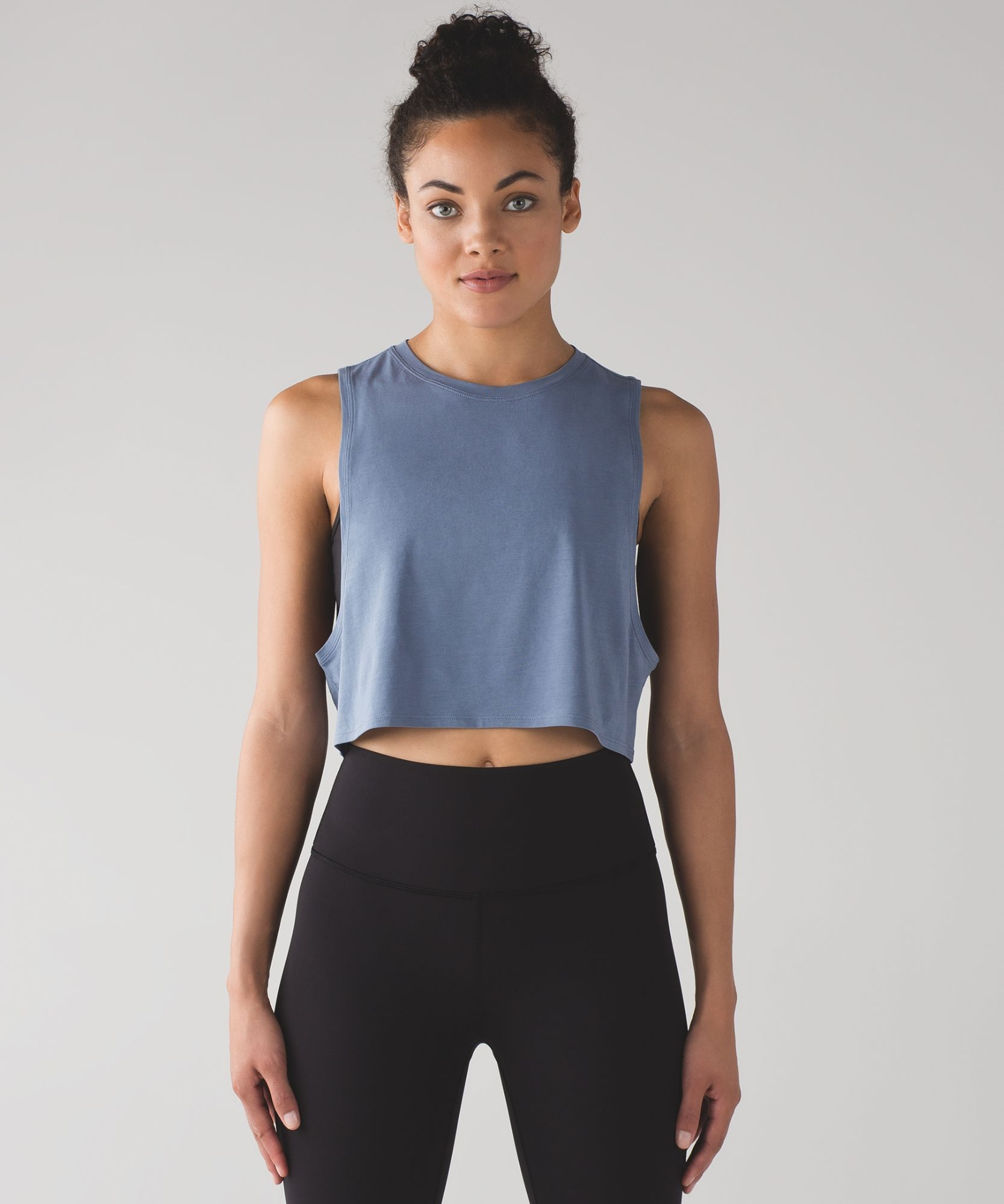 a4455d5e96245 We designed this cropped tank with low armholes to help keep you cool to  and through your practice.