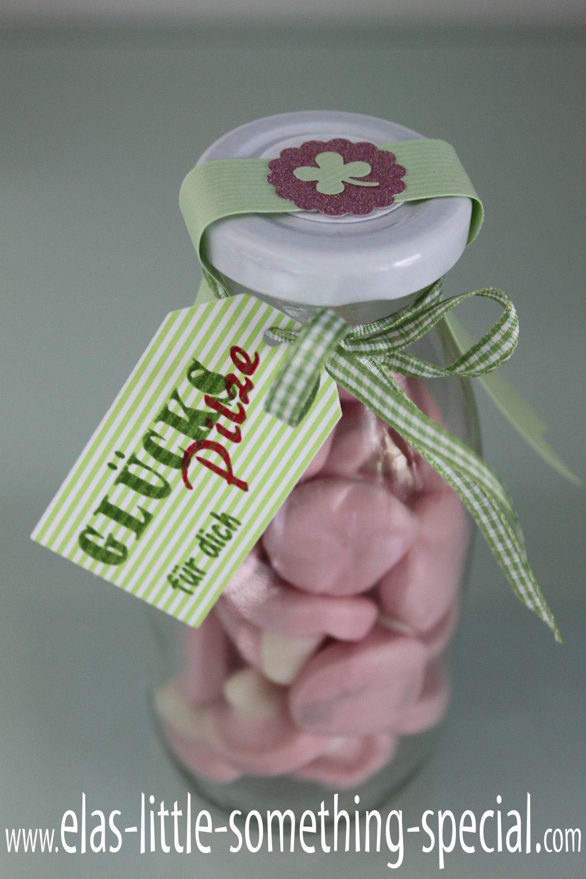 Glückspilze im Glas SilvesterNeujahrDiy GeschenkeVerschenkenGastgeschenkeKleinigkeitenKleine GeschenkeSelbstgemachtesTaufe