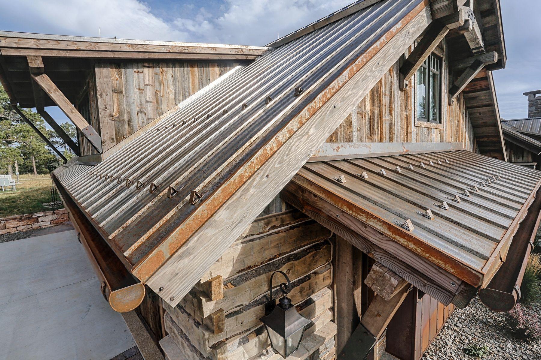 A606 Weathering Steel 1 Standing Seam Metal Roof Metal Roof Standing Seam Roof