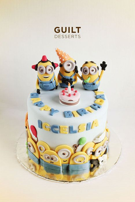 Minions Party Despicable Me Party Cupcake Cakes