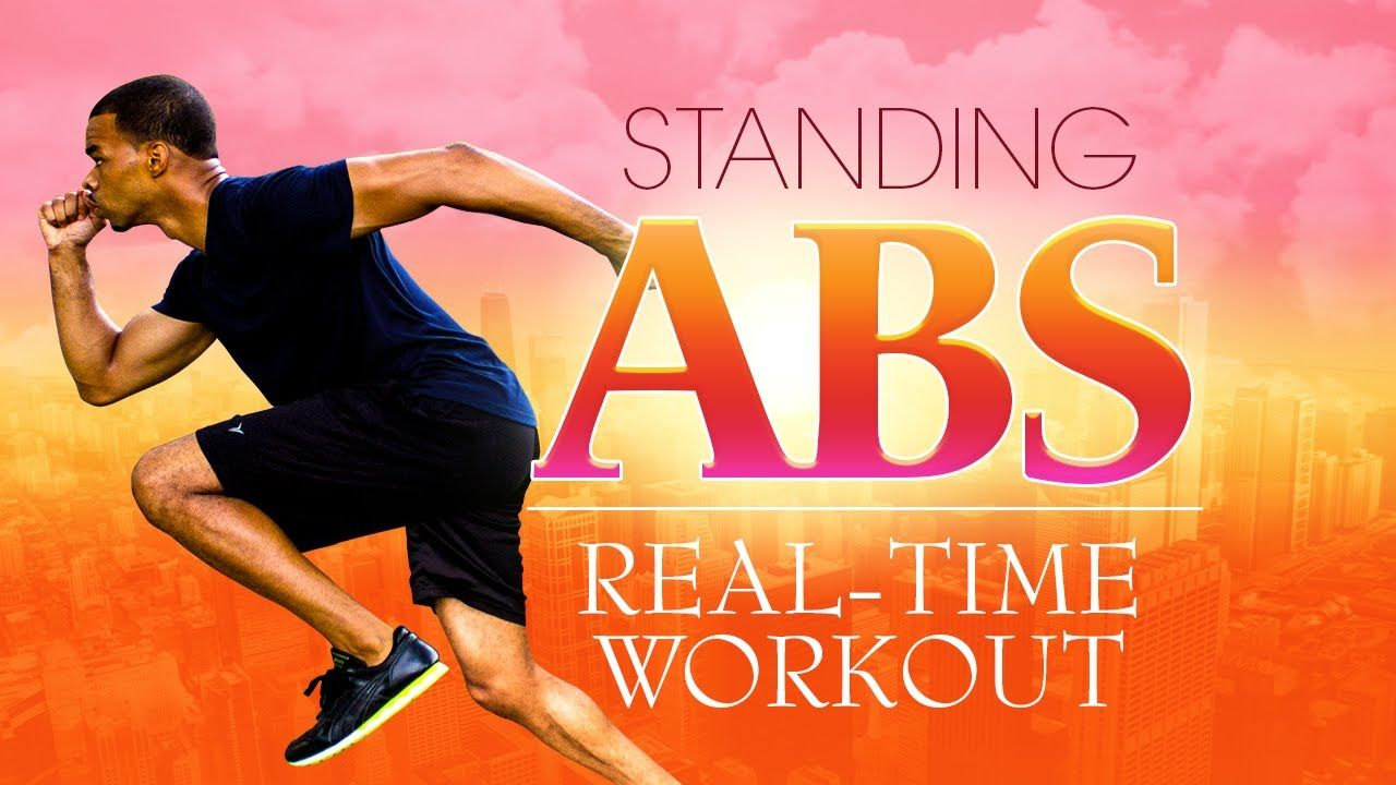 10 Min Standing Abs Workout: Get Six Pack abs without getting on the floor! Burn more calories, build cardio strength, and best of all... NO FLOOR NEEDED!