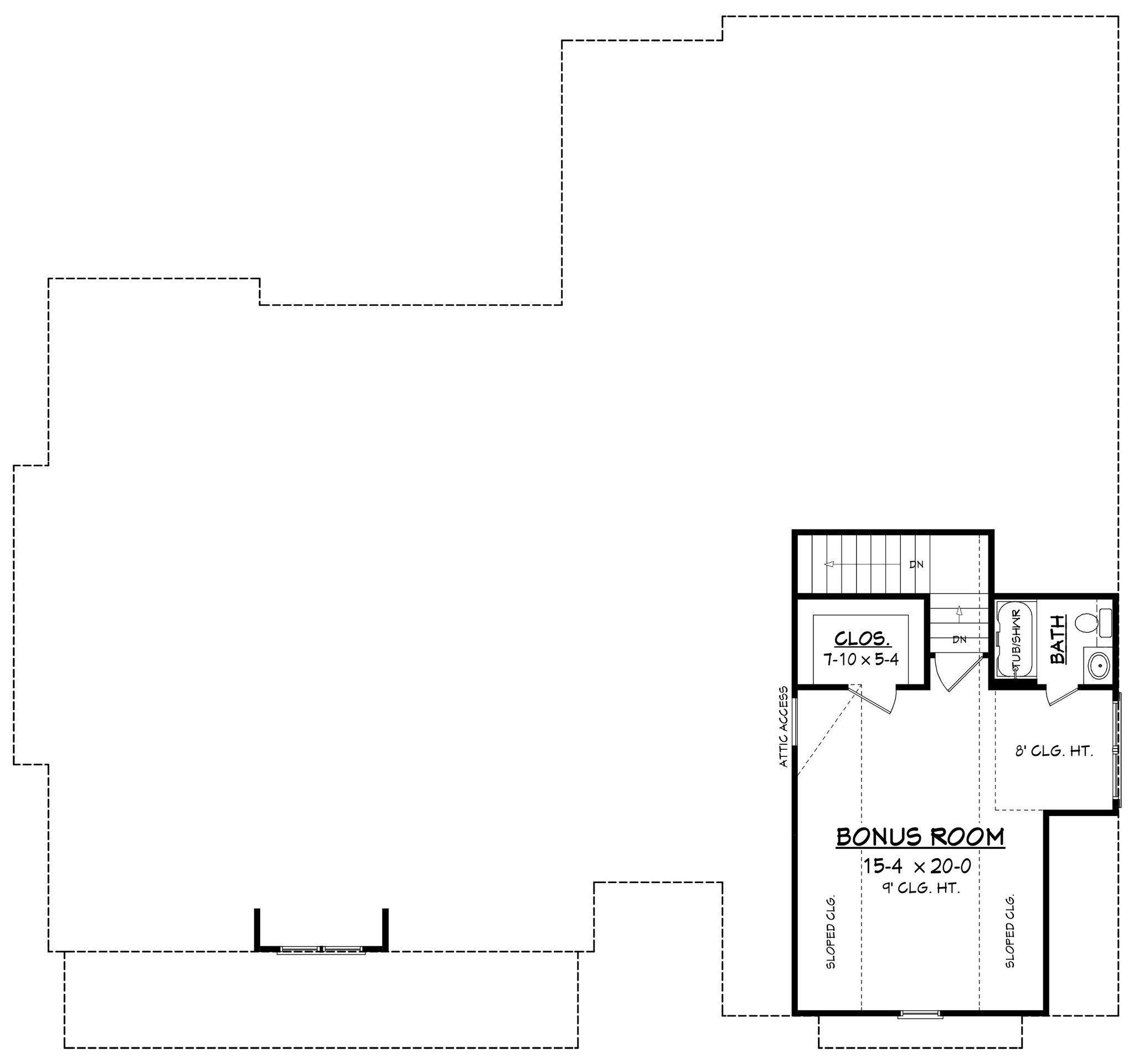 highland court ii house plan brick accent walls open living area