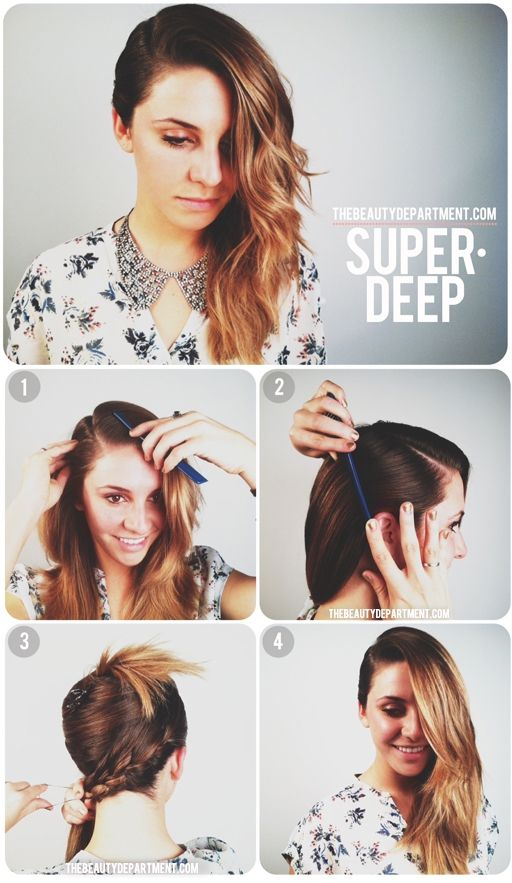 Heavy Side Part Hair Inspiration Cool Hairstyles Hair Beauty