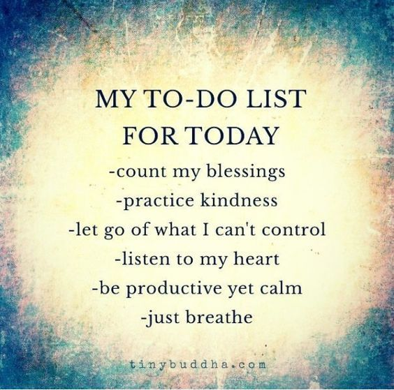 My ToDo List For Today Life Quotes Quotes Quote Inspirational Custom List Of Inspirational Quotes About Life