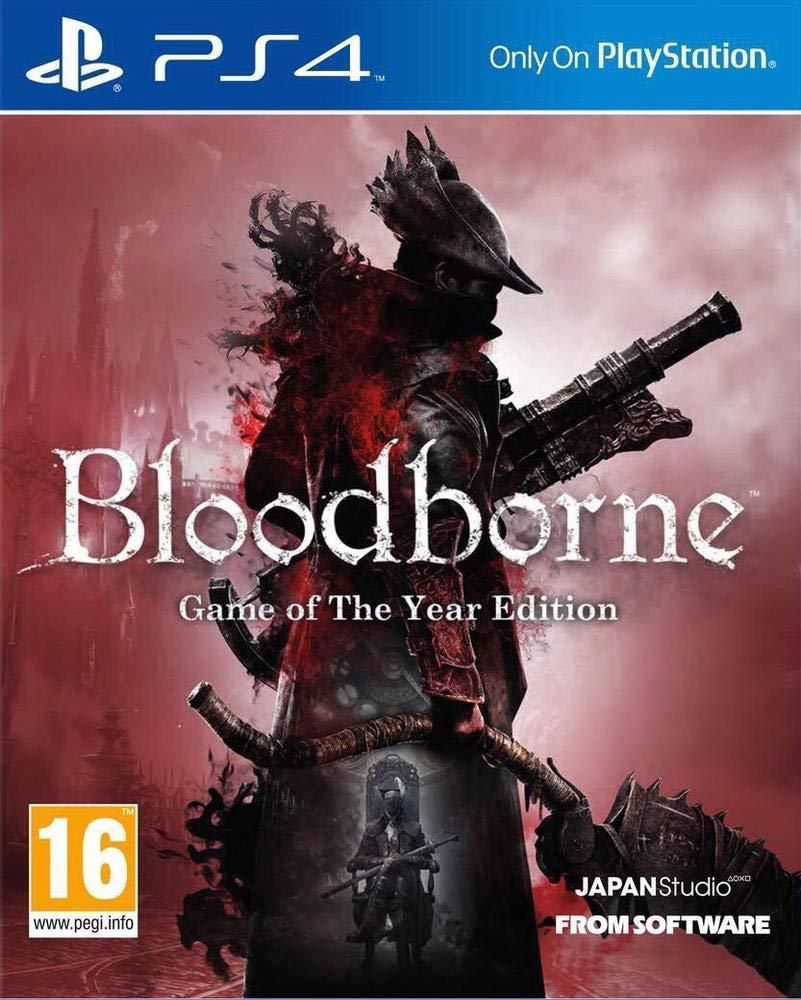 Bloodborne Ps4 Game Of The Year Edition Playstation Region Free