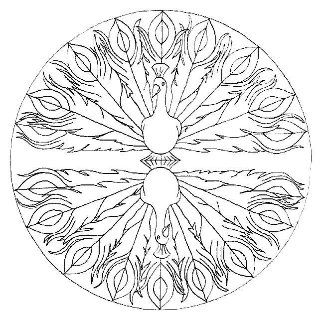 Coloring pages mandala animals 26 | printables | Pinterest ...