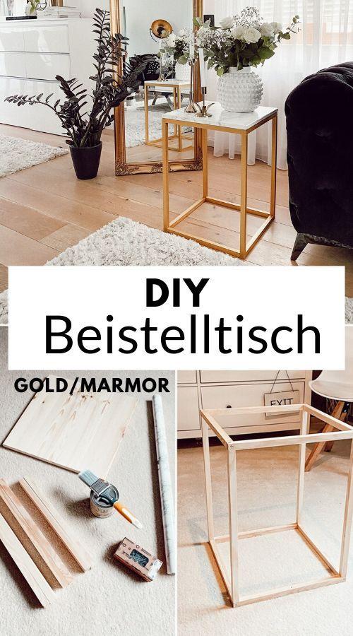 Photo of DIY: Design Beistelltisch selber bauen