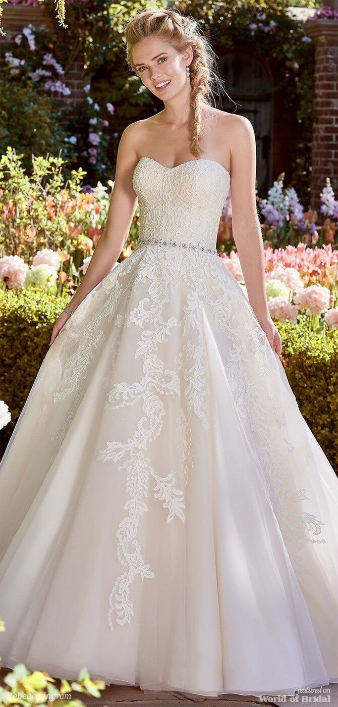 Wedding dresses springfield mo  Rebecca Ingram Spring  Bridal Collection Juniper Collection